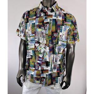 Robert Graham Multi-Color Dress Shirt